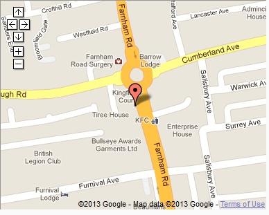 3 Kingfisher Court 1st Floor 281 Farnham Road Slough Berkshire