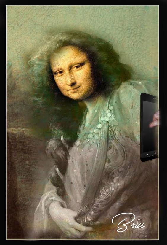 Monnalisa selfie