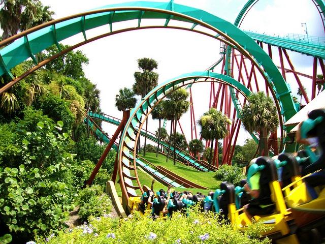 Kumba At Busch Gardens Busch Gardens Tampa Roller