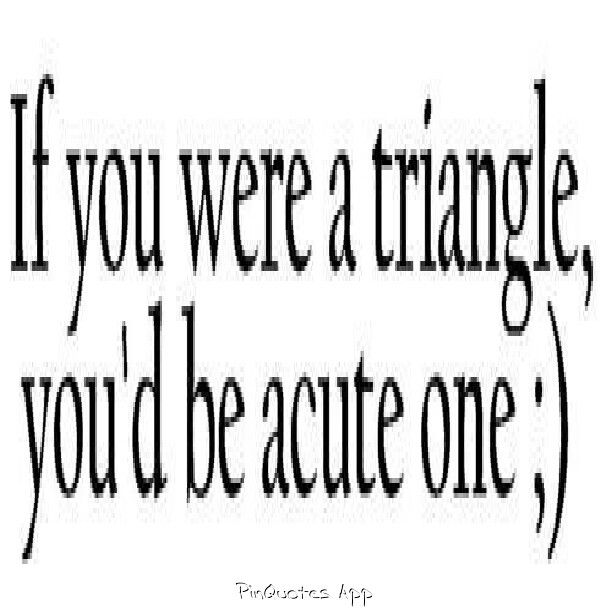 Math nerd pick up line