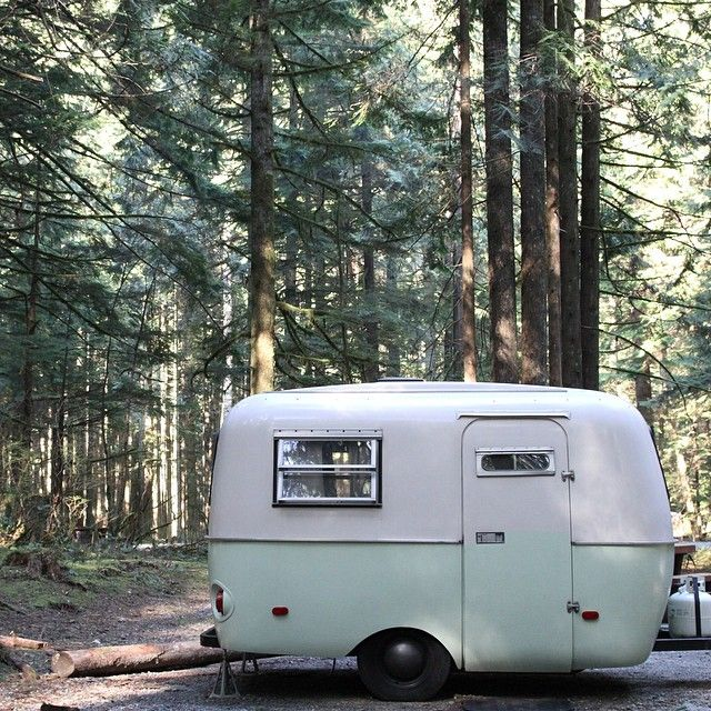 Best Tiny Trailer Images On Pinterest Travel Vintage Campers - Old shabby trailer gets one hell makeover