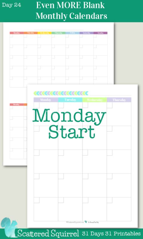 The 25+ best Blank monthly calendar ideas on Pinterest Free - free blank calendar