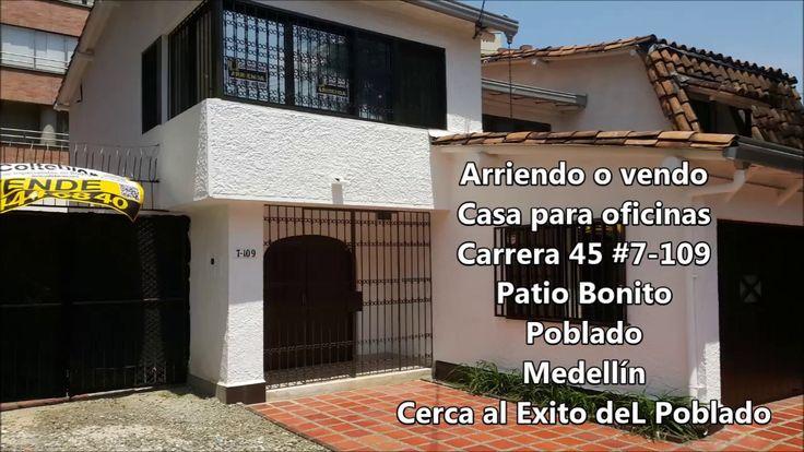 Casa Local u Oficinas Patio Bonito Medellín Vendo o Arriendo 450 m2