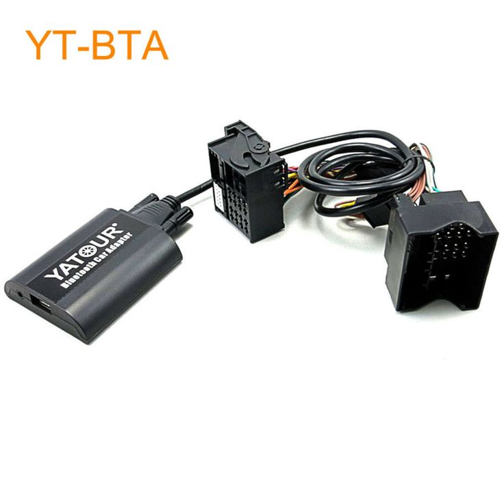 Yatour BTA Car Bluetooth Adapter for Factory Head Unit Radio for Ford Fiesta Mondeo Focus Fusion Galaxy Transit Tourneo S-Max