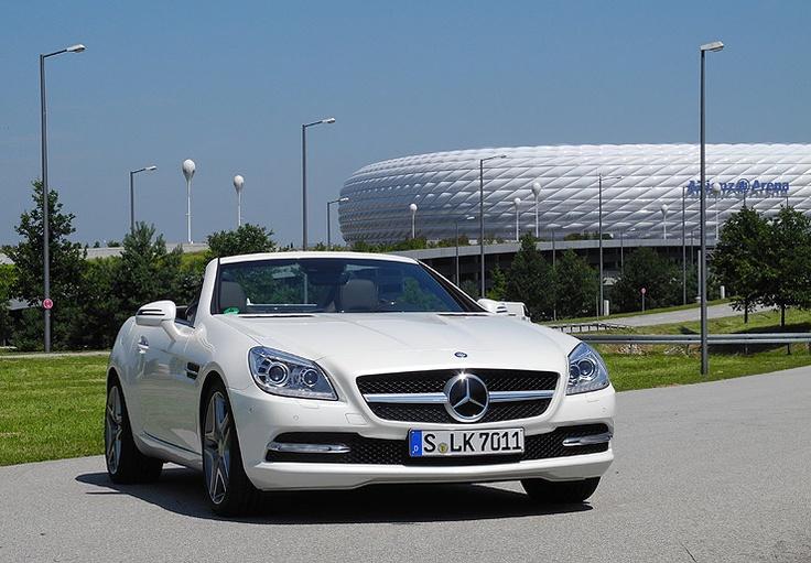 Tracktest Mercedes-Benz SLK 200: www.neuwagen.de/…