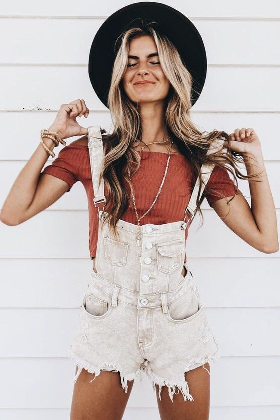 50+ Super Cute Summer Outfits for Teenage Girls Like My Instagram Page #zz #zwya… – Sommer-Outfits