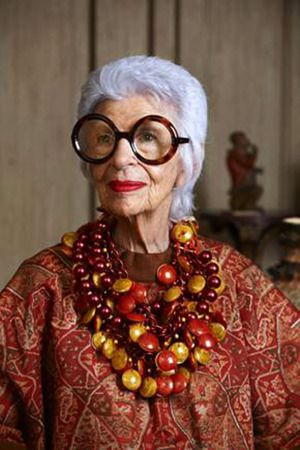 Iris Apfel proves that personal style and confidence,  not Botox,  is beautiful.
