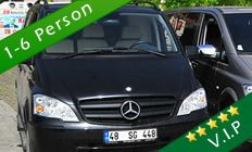 Private Airport Transfers Marmaris Transfer is offering transfers from Dalaman airport to different holiday resorts along the Aegean coast. There are different vehicles options you can choose from.