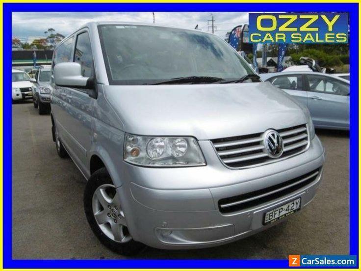 2008 Volkswagen Multivan T5 MY08 Comfortline Silver Automatic 6sp A Van #vwvolkswagen #multivan #forsale #australia