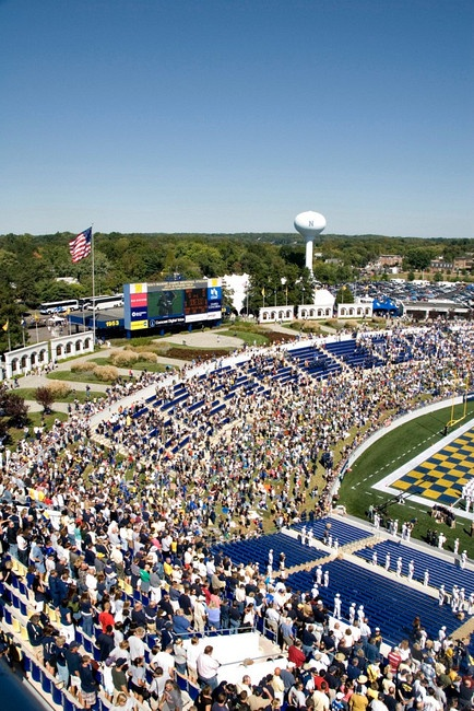 United States Naval Academy - Navy football!  Go Navy, Beat Army!! ... I was there!