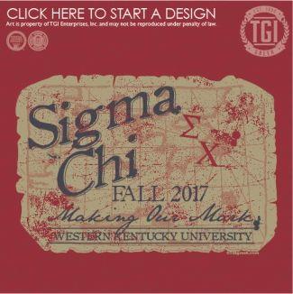 Sigma Chi | ΣX | Fall Rush | Rush Shirt | Fraternity Rush | TGI Greek | Greek Apparel | Custom Apparel | Fraternity Tee Shirts | Fraternity T-shirts | Custom T-Shirts