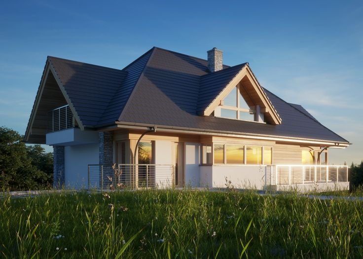 LK&1300 - dom przeznaczony na spadek terenu #lk-projekt #lkprojekt #lkproject #projektdomu #projekty #domjednorodzinny  #house #project #beautifulhouse  #homesweethome #design #architecture #polisharchitecture #traditionalhouse #dom #domtradycyjny http://lk-projekt.pl/lkand1300-produkt-9618.html