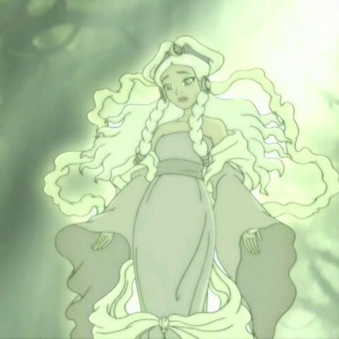 In Avater: the Last Air Bender, princess yue turned into the moon