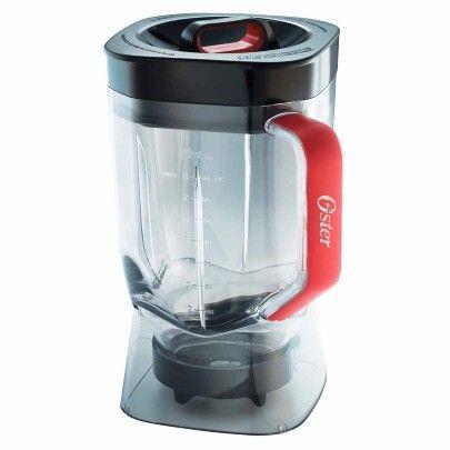 Vaso Oster ® de Tritan™ de 2 litros con tapa y sobretapa - Oster