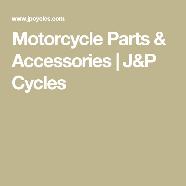 Motorcycle Parts & Accessories | J&P Cycles