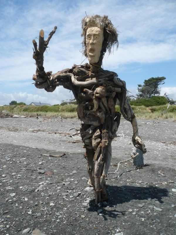 Watched this sculpture come to life when I volunteed over summer.  Hokitika Driftwood Sculpture competition.  West Coast, New Zealand.  ^James Print