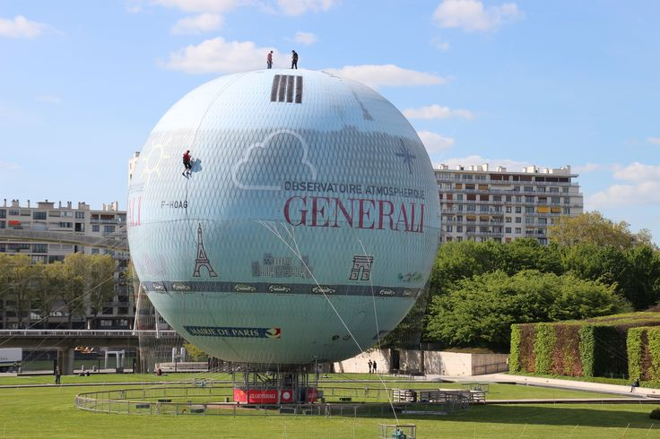 Parc Andre-Citroen....amazing balloon that changes colour with air pollution when up, Best of all the cars and Paris attractions light up at night.  The coolest!
