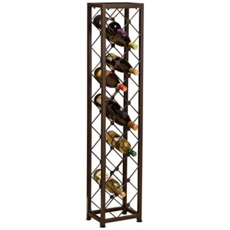 1000 images about wine rack on pinterest wooden wine racks bottle and corner wine rack - Tall corner wine rack ...