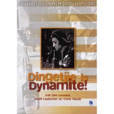 Dingetjie is Dynamite - Roelf Laubscher - South African Afrikaans DVD *New* - South African Memorabilia Store
