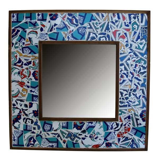 SEVGİLİ EVİM - | STEP SANAT| Aynalar | Mozaik-Çini Ayna | STEP SANAT