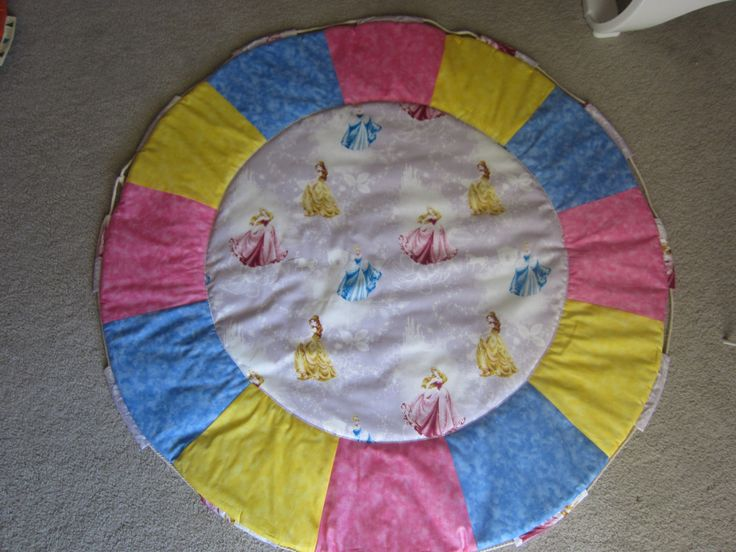 Disney princess play mat  and toy carry bag-in-1 by MKcollectionMK on Etsy