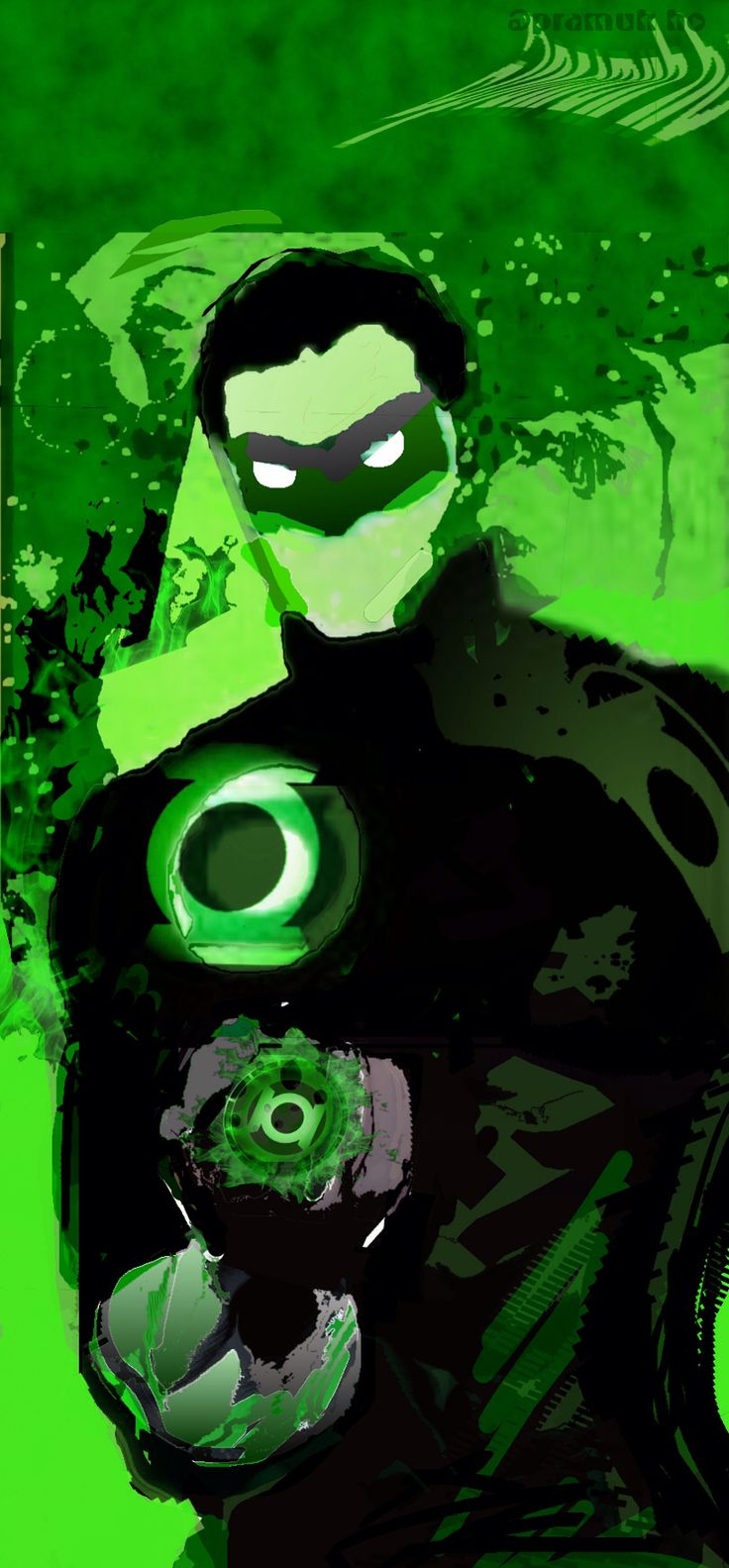 The Power Ring () derived from Power Ring in Green Lantern #1 Rebirth (2016)