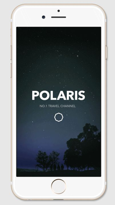 POLARIS TV APPLICATION DESIGN PROPOSALPersonal Work in 2015