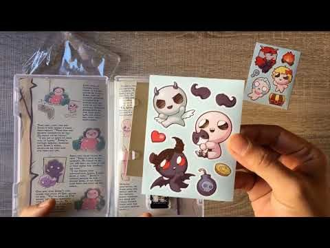 Tell me what you think of this? UNBOXING The Binding of Isaac: Afterbirth † Nintendo Switch https://youtube.com/watch?v=1CkI-tStTrQ