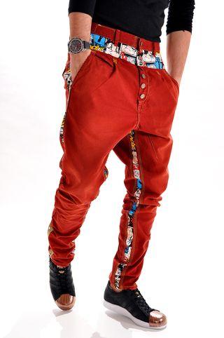 Pantaloni handmade pentru barbati P3272Y, marca Different Cut