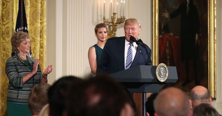 President Donald Trump and his daughter Ivanka are unveiling a new federal computer science initiative with major tech backers