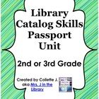 2nd or 3rd Grade Library Catalog Skills Passport Unit. Costs $8 and is a ready made activity for teaching 2nd and 3rd Grade students how to use the OPAC online library catalog.