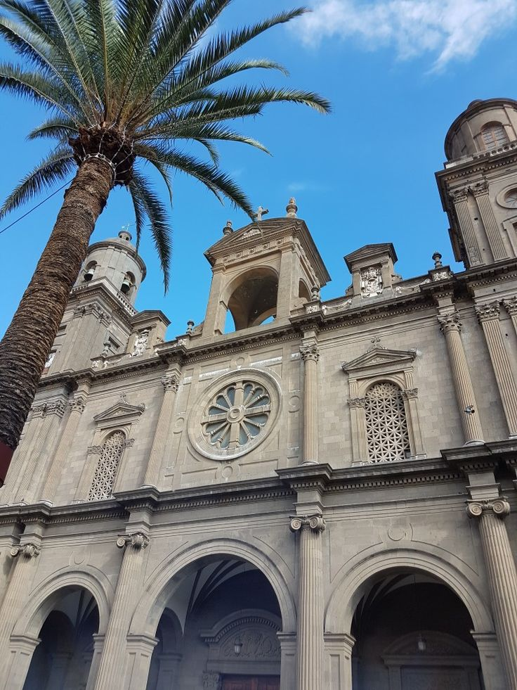 The Cathedral of Santa Ana in Las Palmas