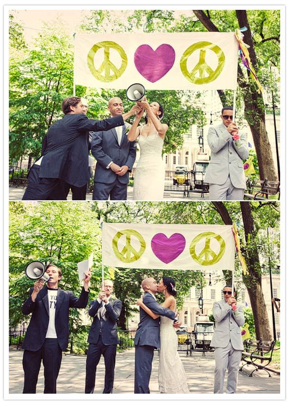 Peace, Love, Peace: Wedding