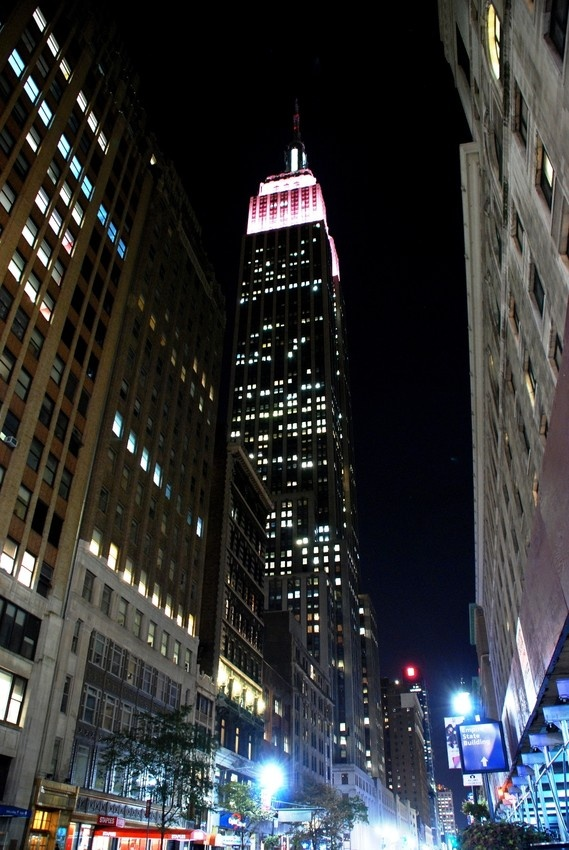 The Empire State Building in New York, USA