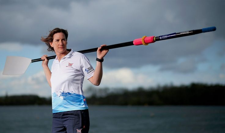 Katherine Grainger at the National Rowing Centre/PA