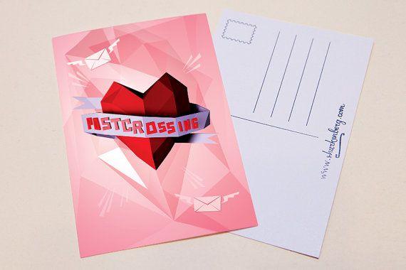 Postcrossing Love Postcard