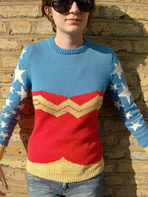 Wonder Woman Jumper 7 by kaby, via Flickr