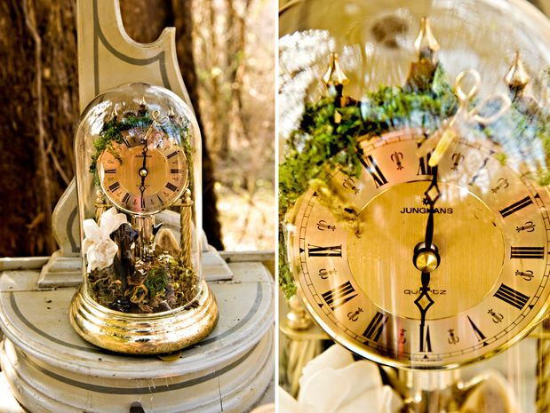 Peter Pan in the Wild... clock centerpiece