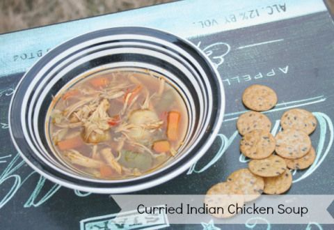 Curried Indian Chicken Soup Recipe - Eat Pray {Read} Love