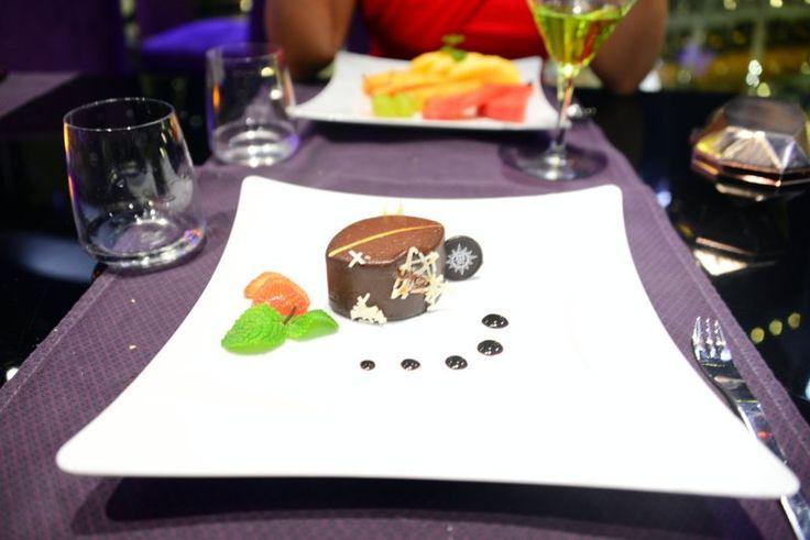 Best chocolate mousse EVER http://www.bruisedpassports.com/wheres/msc-preziosa-review