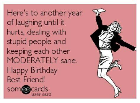 Happy Birthday Best Friend Funny Meme : Best happy birthday funnies ecards images
