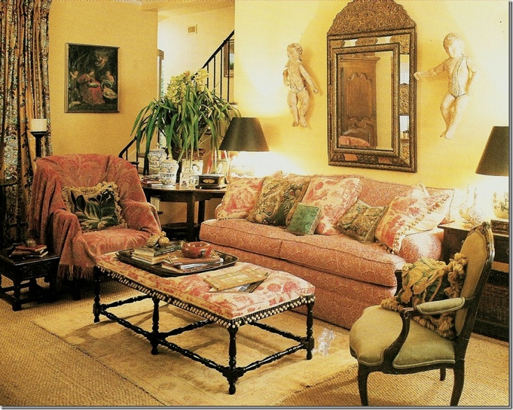 Paisley Throw On Chair  Carol Glasser. Find This Pin And More On Living  Room Style ...