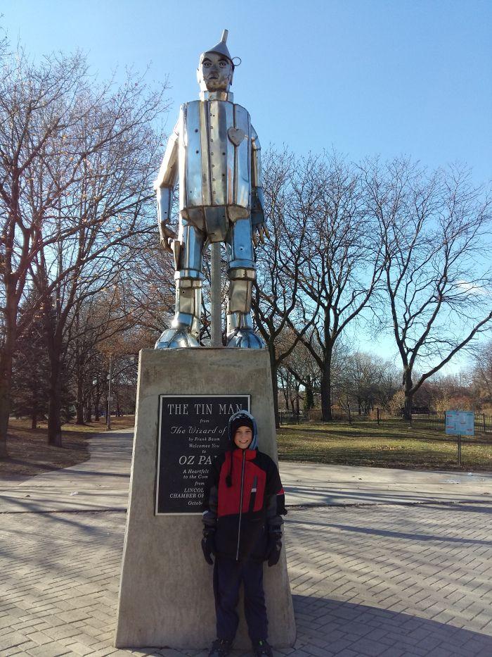 Oz Park (Magicien d'Oz) à Chicago
