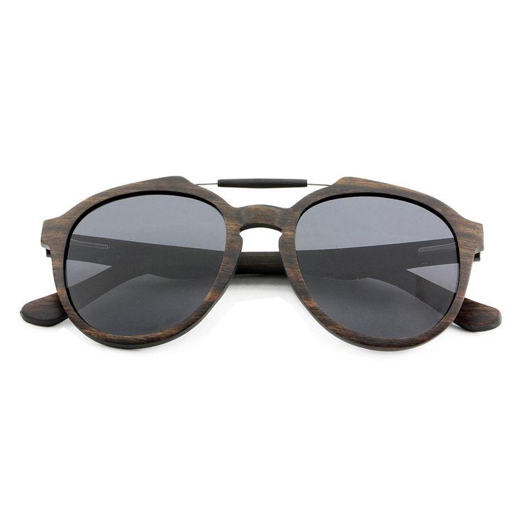 Las gafas madera Emerald están hechas en madera de ébano.