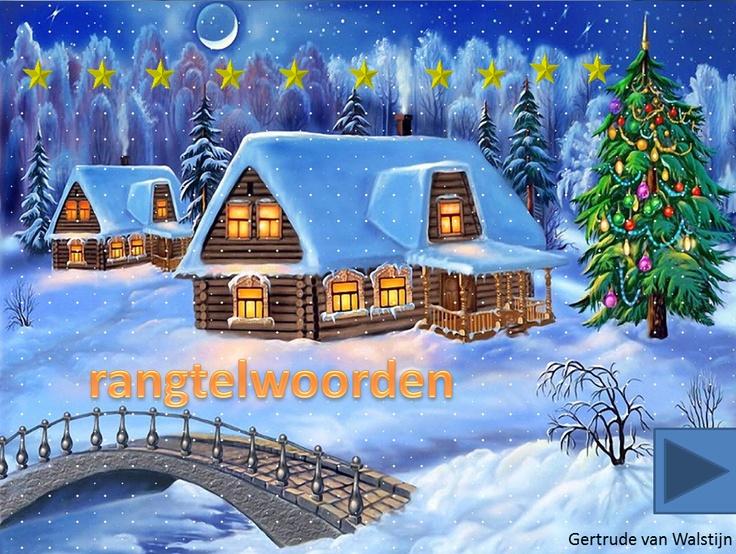 Digibordles: Rangtelwoorden kerst    http://leermiddel.digischool.nl/po/leermiddel/0889179901a04d55571b4a58f0159d99?s=3.12
