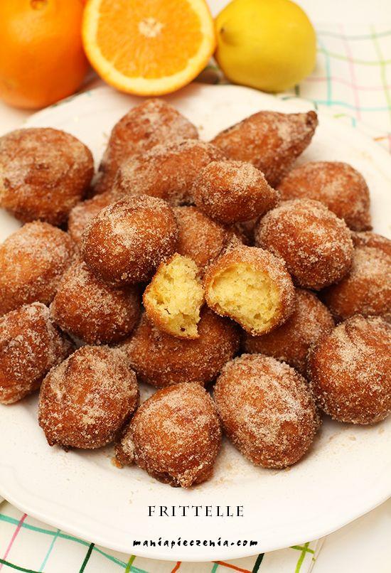 Frittelle - włoskie mini pączki (bez glutenu) Gluten Free