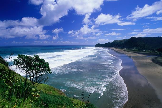 Piha Beach, West Auckland.
