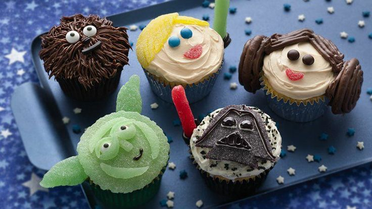 Star Wars Cupcake ideas, perfect for any Star Wars Fan!
