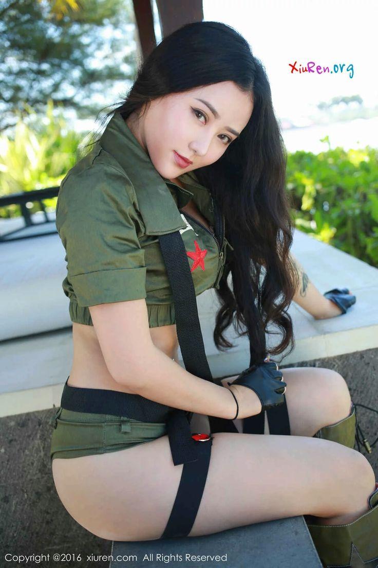 Manuela xiuren chinese model