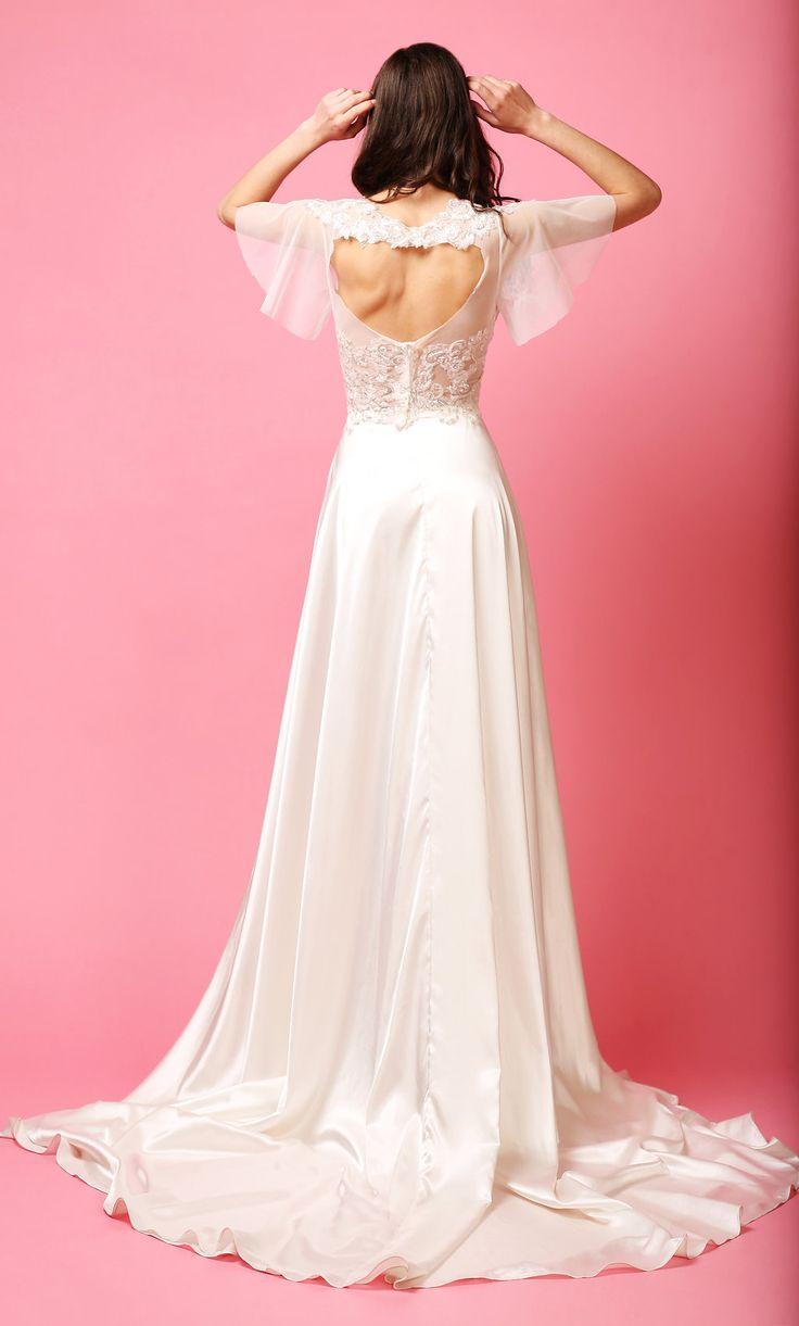 MATCH MADE BRIDAL || TWIGGY TOP  + SYLVIE SKIRT #bridalseparates #lacetop #alineskirt #silkskirt